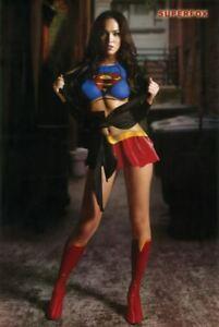 details zu supergirl megan fox 24x36 poster superfox pose home decor photo wall art print