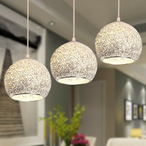 details zu modern ceiling lights bar lamp silver chandelier lighting kitchen pendant light