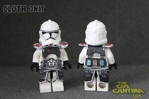 Details About Lego Star Wars Custom Cloth Cape Minifigure Lot Of 2 Medic Strap Set Clone Wars