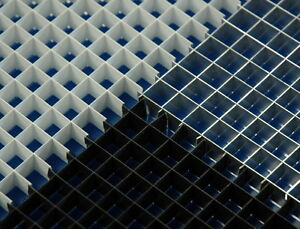 details about eggcrate lighting louver ceiling panels black box of 15 2 x 4