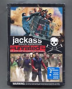Image Is Loading 2 Unrated Jackass Movies Jackass The Movie And