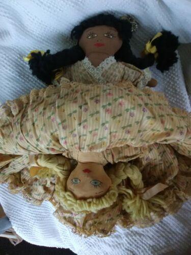 topsey-turvey-doll-vintage-antique-black-white