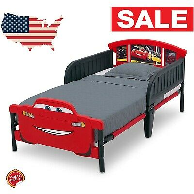 toddler bed frame with no mattress girls boy race car kids bedroom furniture set ebay