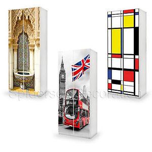 Carta adesiva per mobili ikea; Adesivo Per Mobili Ikea Top Quality Rivestimento Pax O Personalizzato Ebay