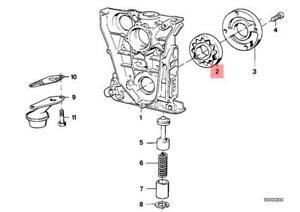 Genuine BMW E30 E34 E36 E46 Z3 Compact Oil Pump Rotor Set ...