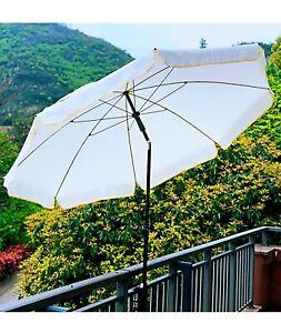 details about ammsun 6 5ft outdoor beach patio umbrella with tilt height adjustable
