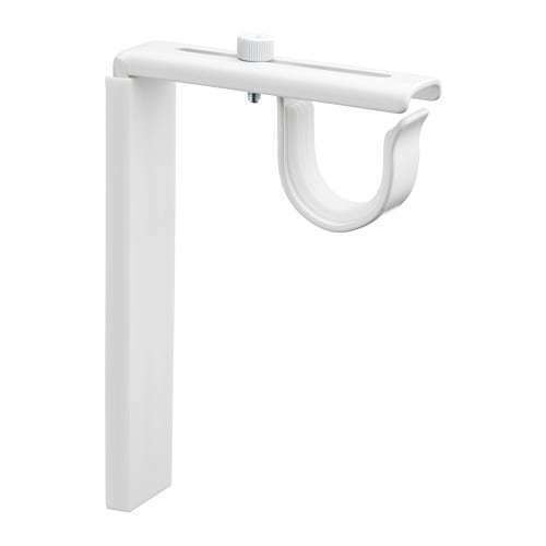 2 x ikea betydlig wall ceiling bracket holder sets for curtain rods for sale online ebay