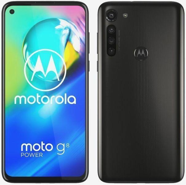 Motorola XT2041-3 moto g8 power 4GB RAM 64GB dual rauch schwarz