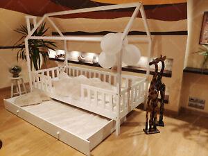 details zu mon lit cabane lits maison lit d enfant lit cabane avec barriere enfant bebe