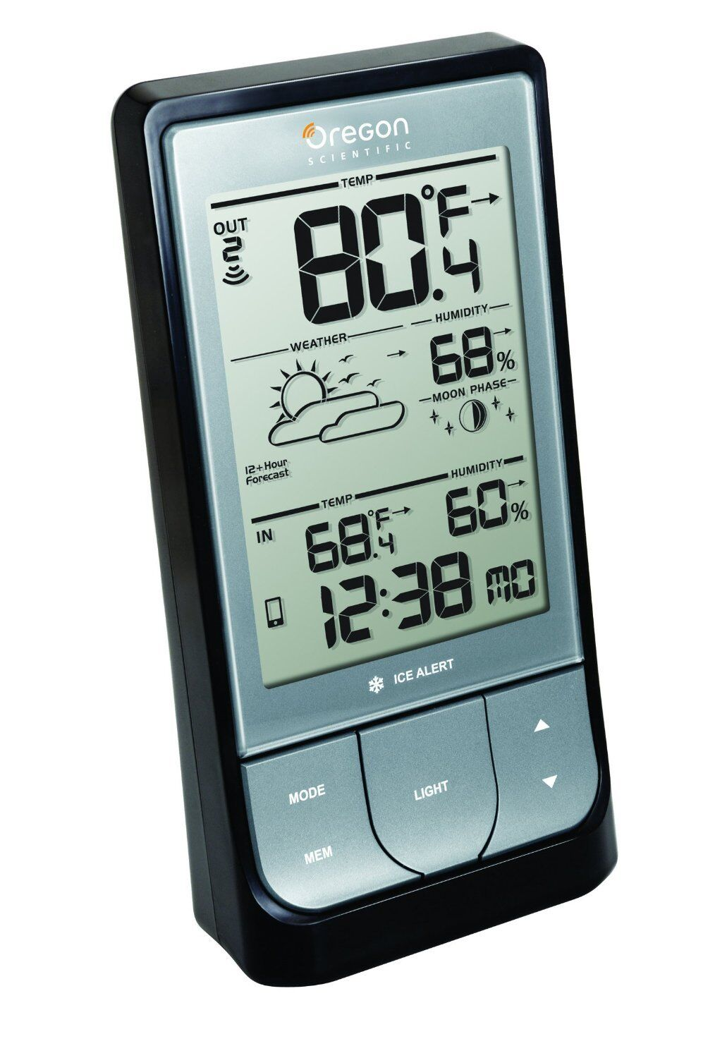 Oregon Scientific Bar218hg Outdoor Indoor Wireless Weather