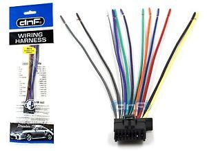 Pioneer DEHP5200HD DEHP6200BT DXT2266UB Wiring Harness  SHIPS FREE TODAY! | eBay