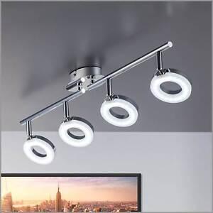details about led kitchen ceiling lights lamp large 4 spotlight bar modern spot light gu10 uk