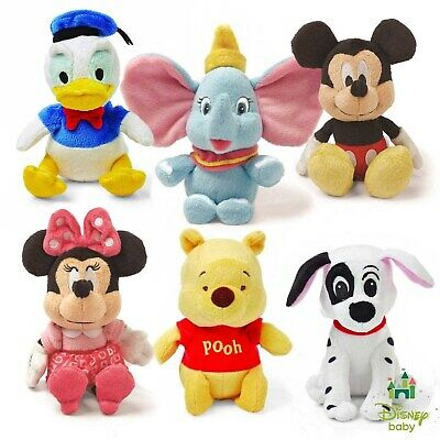 Disney Baby Mini Jingler Soft Plush Toy 12 5cm 6 Characters Free Delivery Ebay