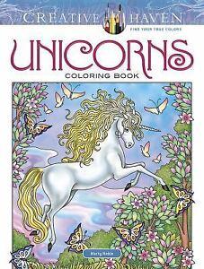 Creative Haven Unicorns Coloring Book Creative Haven Coloring Books 9780486814933 Ebay