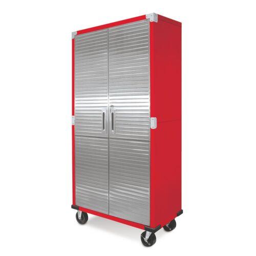 outils bricolage materiel atelier metal rolling garage outil fichier armoire de rangement en acier inoxydable portes couleur rouge munilimatambo gob pe