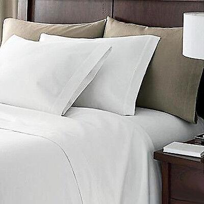 bettwaren wasche matratzen drap housse 2 personnes en coton egyptien 200 fils blanc pour 180cm x 200cm mobel wohnen anemiacero org