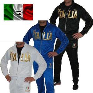 details sur jogging italia ensemble italie jogging veste italia survetement sport italie
