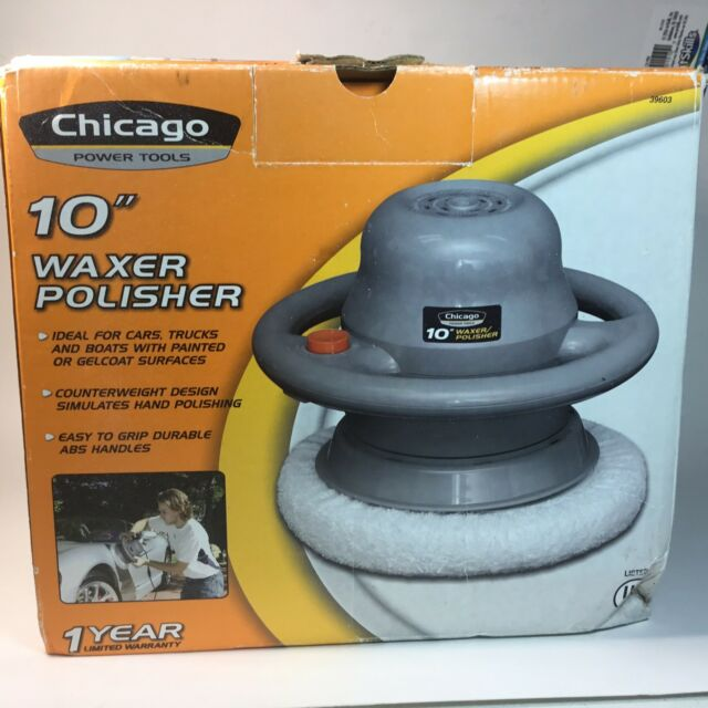 Chicago Electric Power Tools New 10 Random Orbital Polisher Waxer