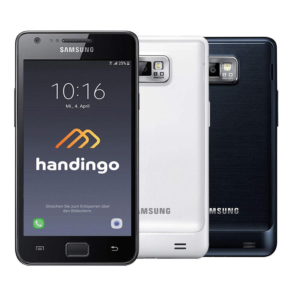 Samsung Galaxy S2 GT-I9100 16GB Smartphone ! Schwarz – Weiss ! Ohne Simlock!