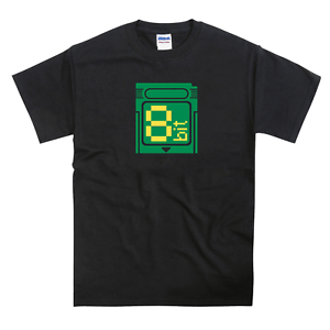 Cartucho de Gameboy Inspirado Camiseta de 8 Bits