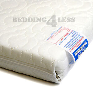 Image Is Loading Baby Cot Mattress Quilted Extra Thick 120 X
