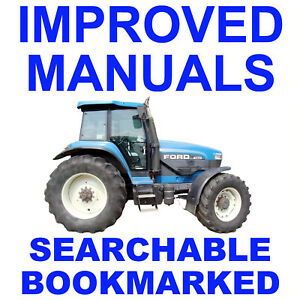 Details About New Holland   Tractor Service Repair Shop Manual