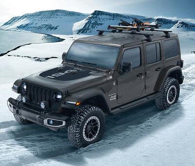 2018 2021 jeep wrangler jl gladiator mopar removable roof rack kit 82215387ab