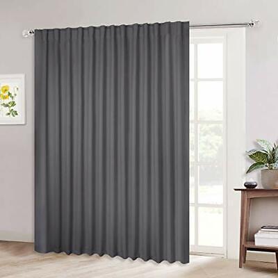 patio door curtain slider blind wide width blackout curtains ebay