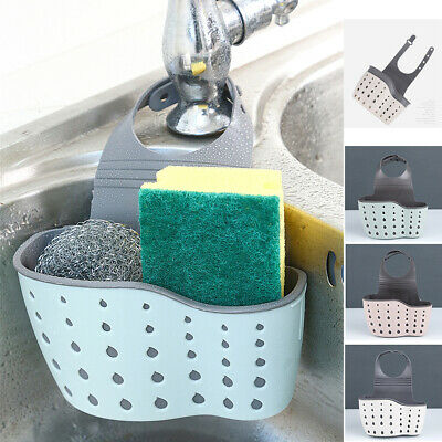kitchen sink sponge holder drain basket