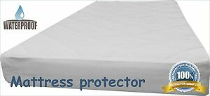 Image Is Loading Waterproof Mattress Protector Cot Bed Cover 60x120