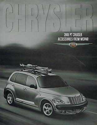 2001 chrysler pt cruiser accessories options brochure roof rack ground effects ebay