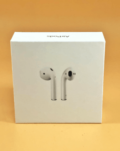Genuine Apple AirPods (2nd Generation), Box Only, Includes Instruction Manual