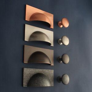 details sur armoire boutons poignees de porte cuisine placard tiroir tire cuivre nickel brosse afficher le titre d origine