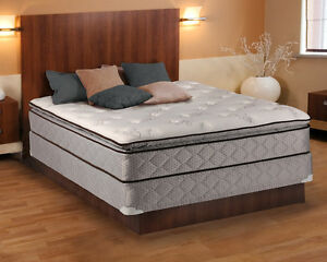 Image Is Loading Madison Gentle Plush Pillowtop Queen Size Mattress And