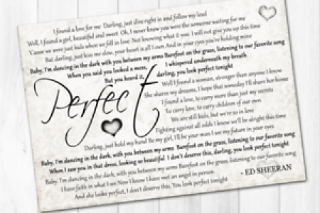 Perfect lyrics by ed 4k pictures 4k pictures full hq wallpaper package image package image ed sheeran s new love song gets perfect lyric video hidden jams ed sheeran perfect lyric video music lyrics wall art ebay ed publicscrutiny Choice Image