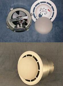 details about mobile home vent fan w light made by ventline vertical exhaust free shipping