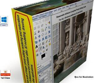 Photo photography image editing software - CS6 for windows XP 7 10 32 & 64 bit.,
