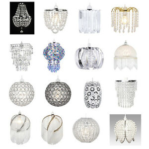 Image Is Loading Modern Chandelier Style Ceiling Pendant Light Shade Acrylic