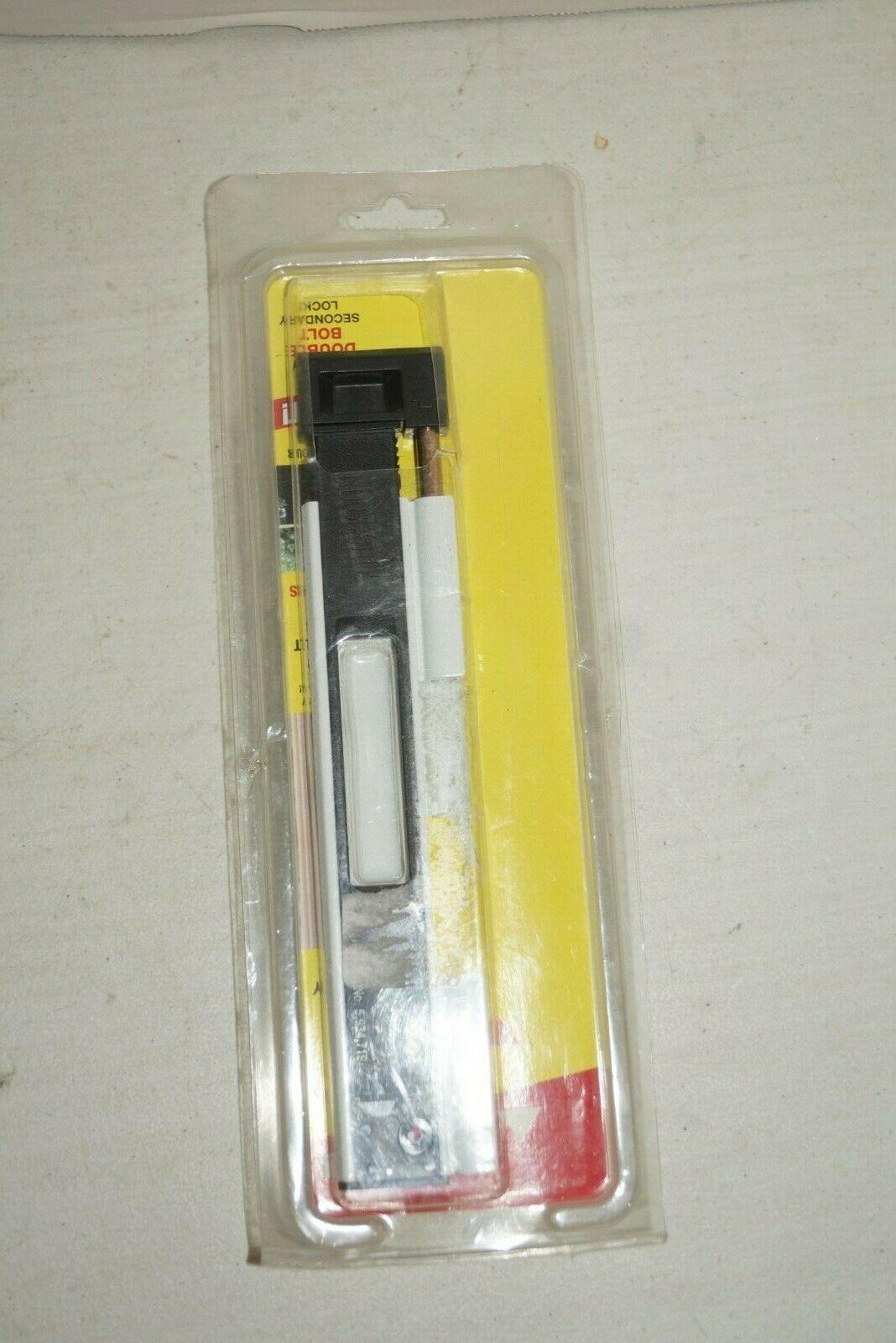 lockit 200100100 double bolt sliding glass door black white lock