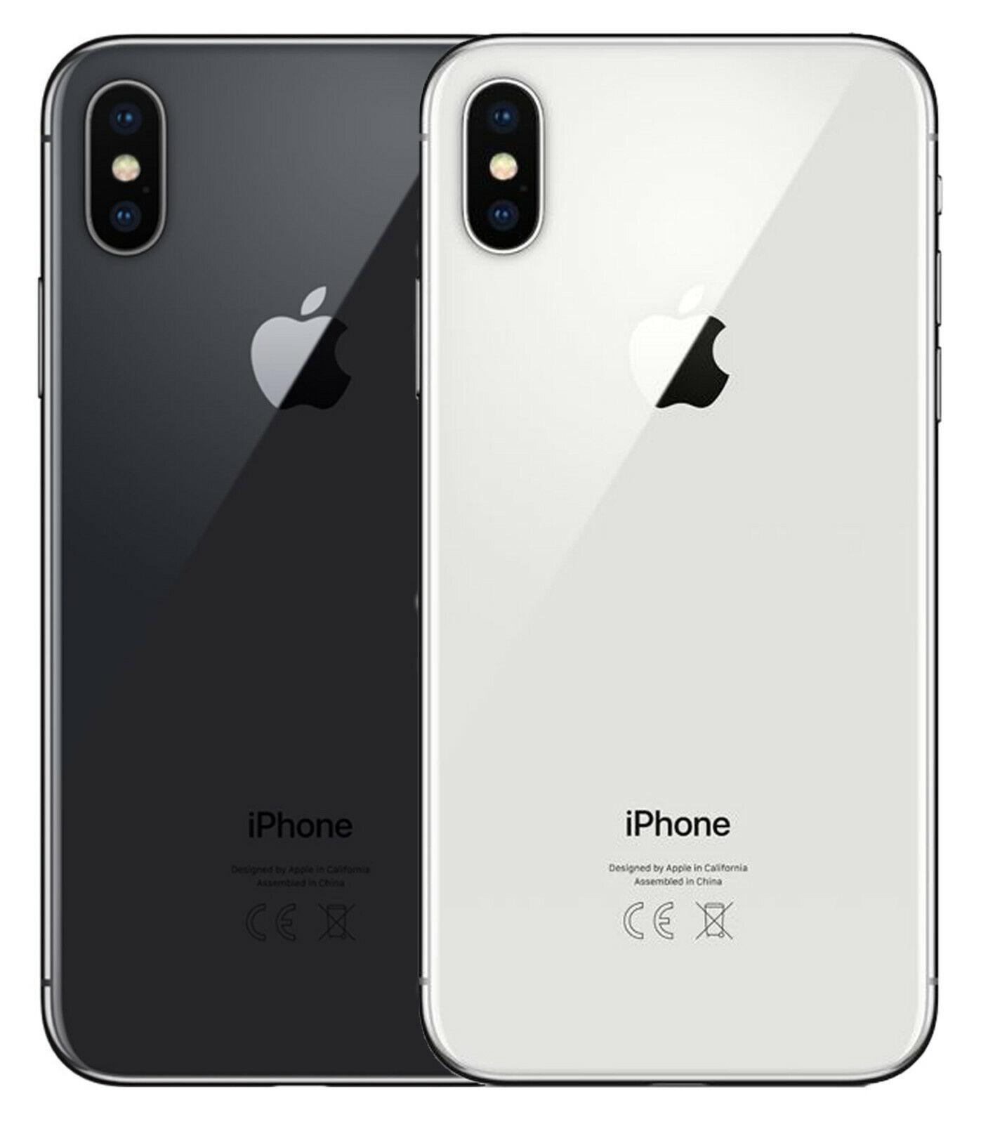 Apple iPhone X – 256 GB – Space Grau-Silber – Gratis Powerbank und Glasfolie!!!!