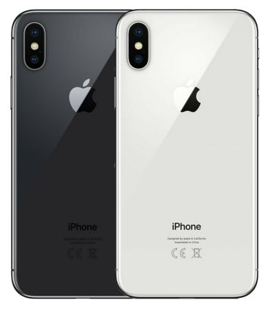 Apple iPhone X – 256 GB – Space Grau-Silber – Gratis Powerbank und Glasfolie!!!!
