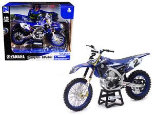Yamaha Factory Racing YZ450F #2 Cooper Webb Motorcycle Model 1:12 ...
