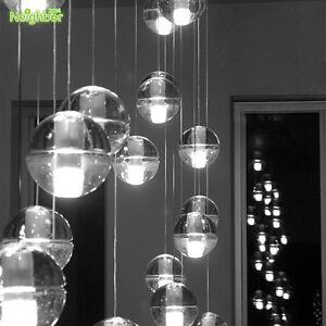 Image Is Loading 26drop Meteor Glass Globe Pendant Lamp Ceiling Light