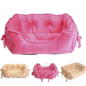 Luxurious Pet Dog Cat Princess Sofa Bed House Kitten Puppy Kennel     Image is loading Luxurious Pet Dog Cat Princess Sofa Bed House