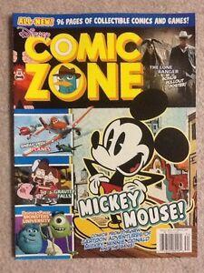 Disney Comic Zone Magazine Mickey Mouse! October 2013