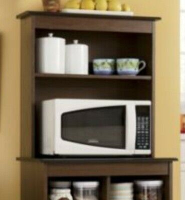 haley microwave stand hutch bottom not included just top free shipping ebay