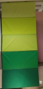 details sur haut ikea plufsig gymnastique pliable 78x185 cm turn spielematte mat vert
