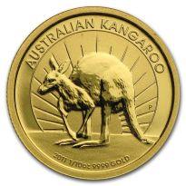 Goldmünze Känguru Australien verschiedene Jahrgänge 1/10 oz in Stempelglanz