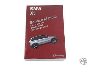 BMW E53 Bentley Repair Manual  X5 20002006 | eBay