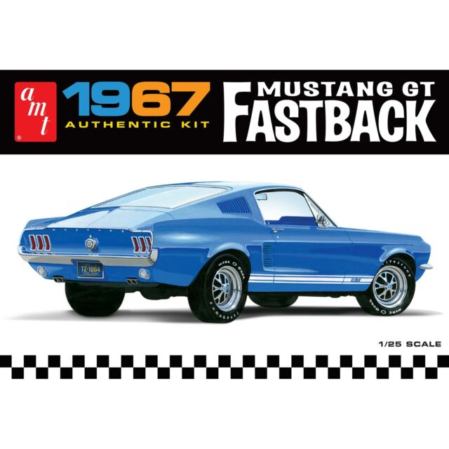 Rust free car and under the vehicle. Amt 1241 1 25 1967 Ford Mustang Gt Fastback Model Kit For Sale Online Ebay
